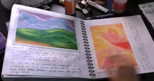 """Mindfulness Workshop: """"Art Journaling"""""""