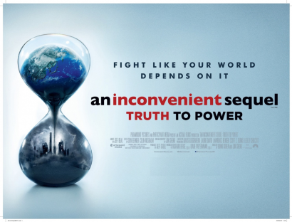 "Environmental Justice Film Series: ""An Inconvenient Sequel-Truth to Power"" @ Berrien Unitarian Universalist Fellowship"
