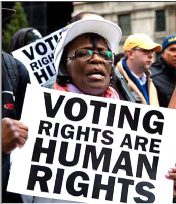 """Community Conversations: """"Let's Talk About Voting Rights"""""""