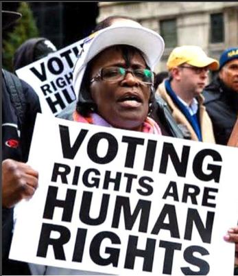 "Community Conversations: ""Let's Talk About Voting Rights"" @ Berrien Unitarian Universalist Fellowship"