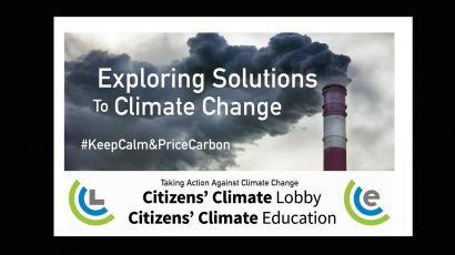 March 2020 In-Person Meeting CANCELED: Citizens Climate Lobby: Monthly Meeting @ Berrien Unitarian Universalist Fellowship