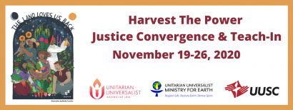 "UUA Worship Service: ""Thanksgiving Reframed"""