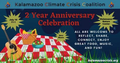 Citizens' Climate Lobby Chapter Meeting & Picnic @ Kalamazoo Nature Center